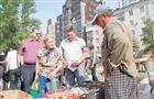 Депутаты и чиновники проинспектировали сельхозярмарку на площади Куйбышева