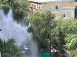 В Самаре на ул. Алексея Толстого «открылся» фонтан высотой с 6-этажный дом