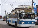 В Самаре временно укоротят маршрут троллейбуса № 6