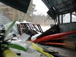 В Сызрани обрушилась крыша лодочного ангара спортивной школы