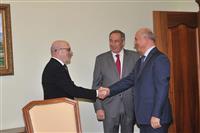Николай Меркушкин поддержал идею Шамиля Тарпищева о развитии в регионе пляжных видов спорта