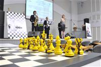 Показательные поединки по шахпонгу и шахбоксингу