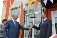 Глава региона и начальник Куйбышевской железной дороги торжественно открыли здание вокзала Чапаевска