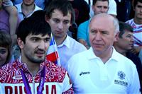 Олимпийский чемпион по дзюдо Тагир Хайбулаев прибыл в Самару