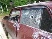 В Самаре около кладбища на ул. Лунной обнаружен расстрелянный автомобиль