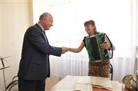Николай Меркушкин посетил культурный центр в селе Красноармейское