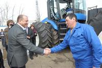 Владимир Артяков оценил готовность Большечерниговского района к посевной