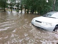 В Тольятти затопило ул. Баныкина