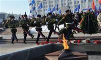 В Самаре прошли праздничные мероприятия, посвященные Дню защитника Отечества