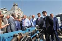 Совещание, где рассматривался вопрос расширения использования природного газа в качестве моторного топлива в регионах Приволжья