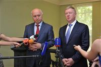 Николай Меркушкин и Анатолий Чубайс договорились о реализации ряда крупных инновационных проектов в Самарской области