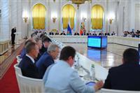 Николай Меркушкин принял участие в заседании Государственного совета РФ