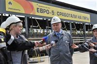 Сызранский НПЗ первым в регионе освоил производство автобензина Евро-5