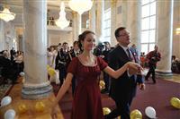 В театре оперы и балета состоялся первый городской кадетский бал