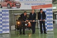 Губернатор протестировал новую Lada Kalina