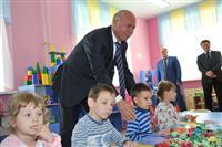 Губернатор открыл детский сад в Железнодорожном районе