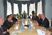 Николай Меркушкин провел рабочую встречу с чрезвычайным и полномочным послом Республики Словения в Российской Федерации Приможем Шелиго