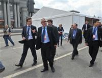 Комиссия FIFA осмотрела территорию будущей фан-зоны