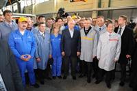 Владимир Путин дал старт серийному производству Lada Largus