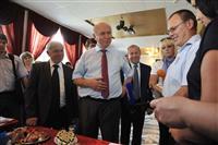 Николай Меркушкин высоко оценил качество продукции исаклинских сельхозпроизводителей