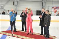 Николай Меркушкин  открыл каток на Мехзаводе