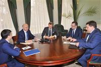 Николай Меркушкин провел рабочую встречу с генеральным директором Почты России Дмитрием Страшновым