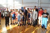 В селе Домашка Кинельского района состоялось торжественное открытие физкультурно-оздоровительного комплекса
