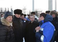 Михаил Бабич, Максим Соколов и Николай Меркушкин накануне совещания осмотрели объекты транспортной инфраструктуры региона