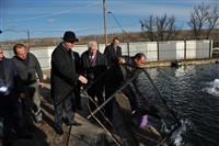Губернатор Самарской области Николай Меркушкин посетил с рабочим визитом Клявлинский район