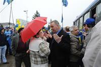 Митинг оппозиционных сил раскололся