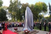 На пл. Куйбышева открыли памятник Дмитрию Шостаковичу