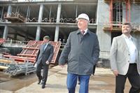 """Губернатор Николай Меркушкин посетил строительную площадку нового """"Кардиохирургического центра"""""""