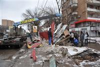 В Самаре возобновили снос киосков, хозяева которых оказывали сопротивление