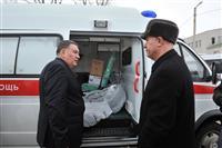 Николай Меркушкин посетил детскую городскую больницу Чапаевска