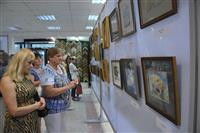 """В Самаре открылась выставка питерских художников """"Большое искусство в мини-формате"""""""