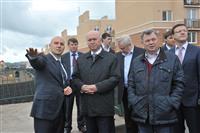 Николай Меркушкин посетил микрорайон «Крутые Ключи»