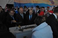 Владимир Путин дал старт строительству стадиона к ЧМ-2018