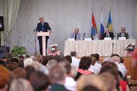 Николай Меркушкин с рабочим визитом посетил Елховский район