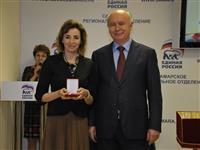 Губернатор вручил памятные знаки участникам и организаторам Парада 7 ноября