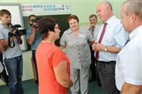 Николай Меркушкин в рамках визита в Исаклинский район посетил образовательный центр
