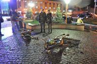 "В Самаре демонтируют бронзовые скульптуры у ТЦ ""Фрегат"""