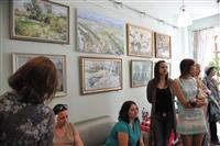 В Доме журналиста открылась выставка самарской художницы Ольги Абраменковой