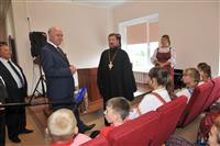 Николай Меркушкин посетил храм в честь Архангела Михаила в Шигонах