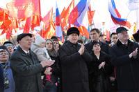 Самара отметила годовщину вхождения Крыма в состав России