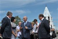 Губернатор посетил Сызранский кремль и кафедральный собор