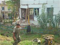Взрыв газа в п. Садгород слышали даже в соседних селах