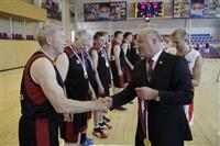 Ветераны самарского баскетбола сыграли с командой из Севастополя в рамках Кубка дружбы