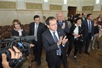 Владимир Мединский и Николай Меркушкин посетили Академию культуры