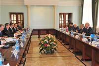 Николай Меркушкин встретился с вице-премьером республики Беларусь