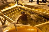 Самарцы окунулись в Волгу на Крещение